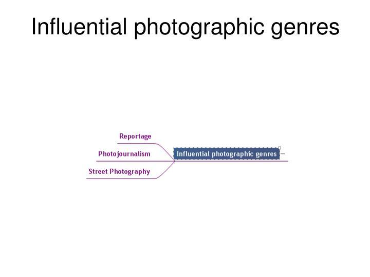 Influential photographic genres