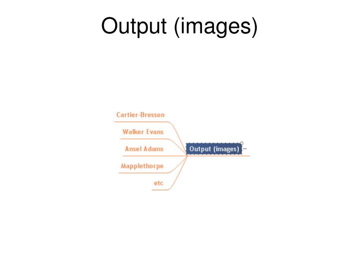 Output (images)