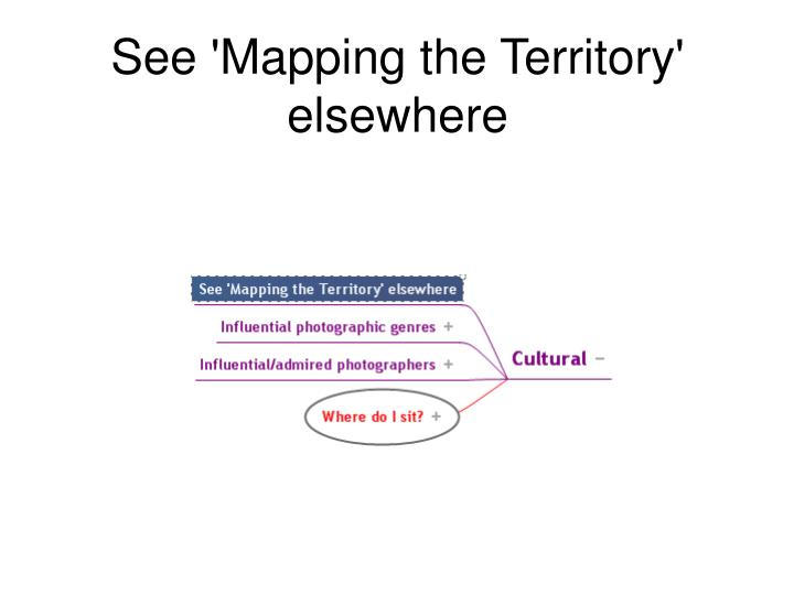 See 'Mapping the Territory' elsewhere