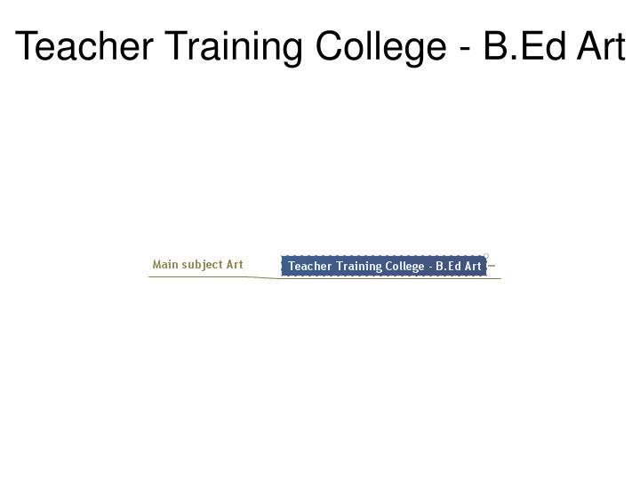 Teacher Training College - B.Ed Art