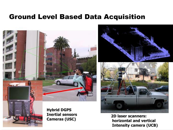 Ground Level Based Data Acquisition