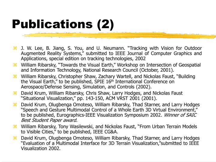 Publications (2)
