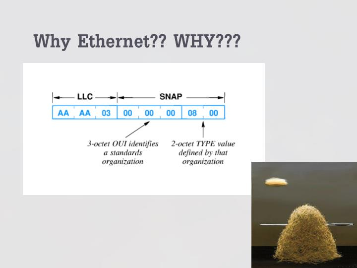Why Ethernet?? WHY???