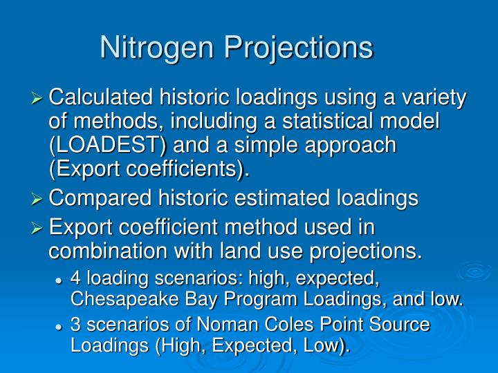 Nitrogen Projections