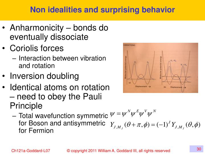 Non idealities and surprising behavior