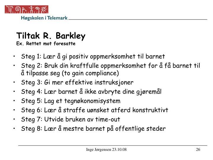 Tiltak R. Barkley