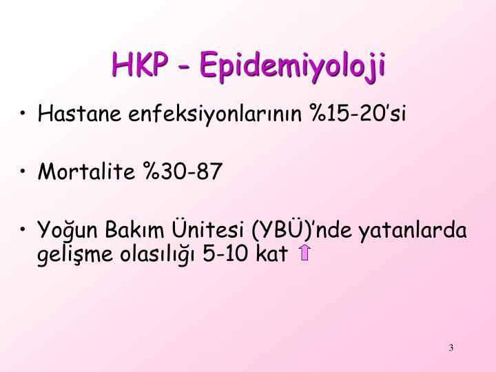 HKP - Epidemiyoloji