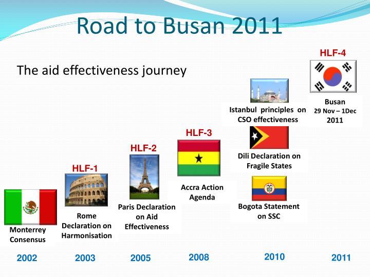 Road to Busan 2011