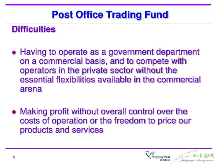 Post Office Trading Fund