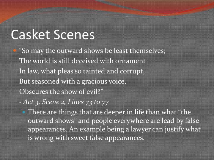 Casket Scenes