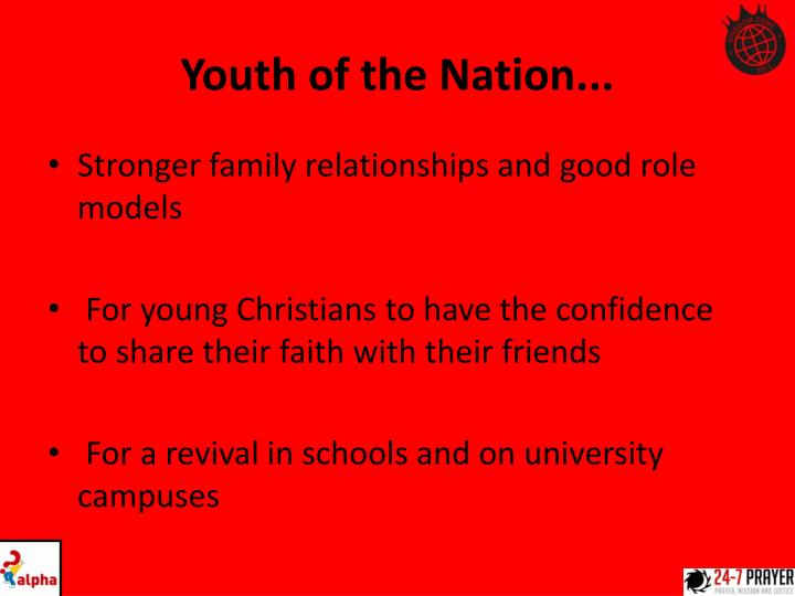 Youth of the Nation...