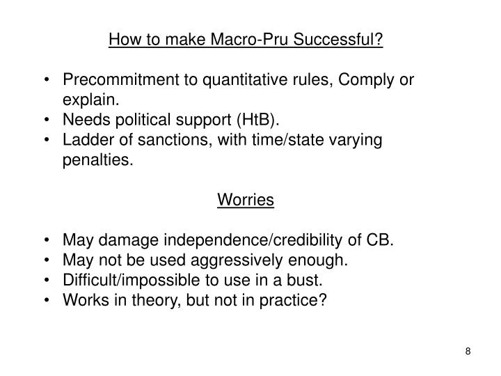 How to make Macro-