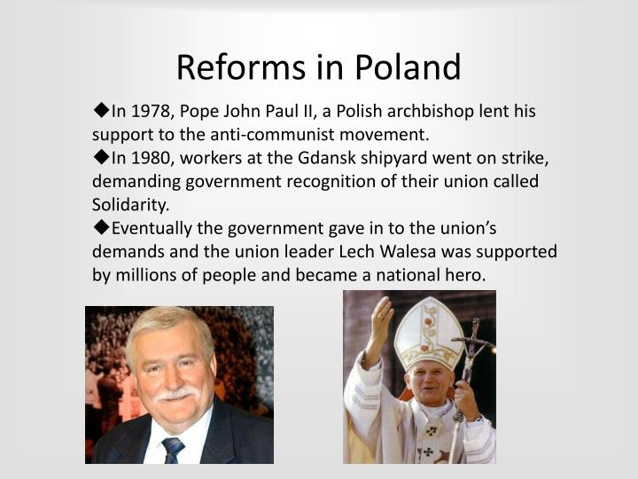 Reforms in Poland