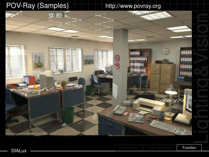 POV-Ray (Samples)