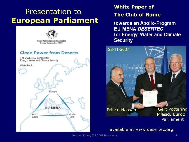 White Paper of