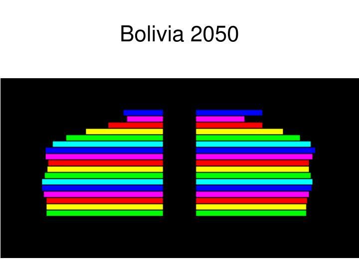 Bolivia 2050