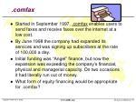 comfax