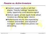 passive vs active investors1