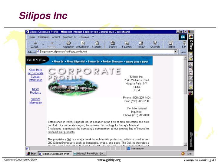 Silipos Inc