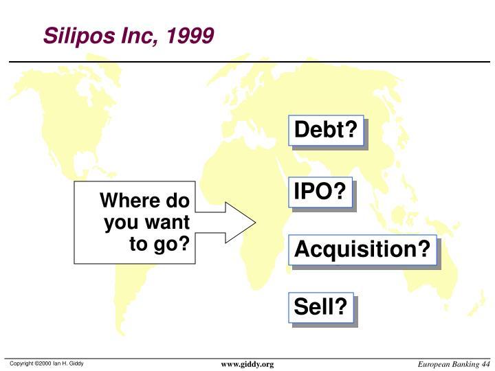 Silipos Inc, 1999