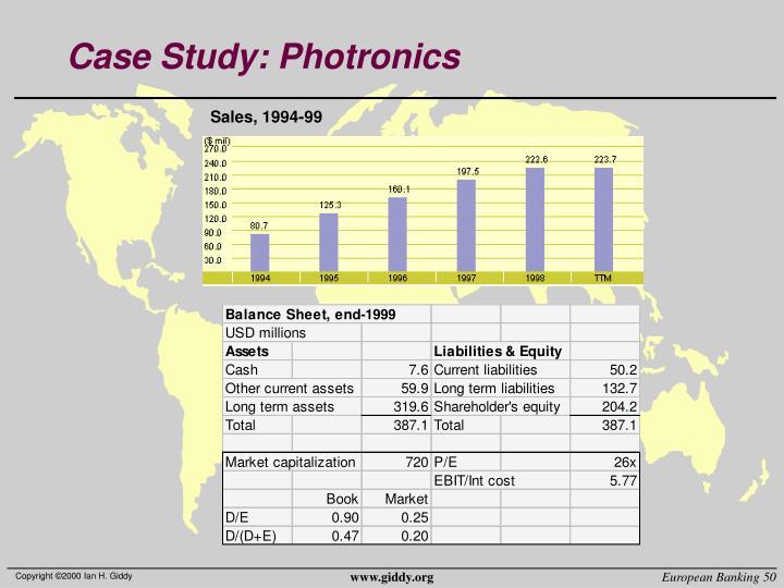 Case Study: Photronics