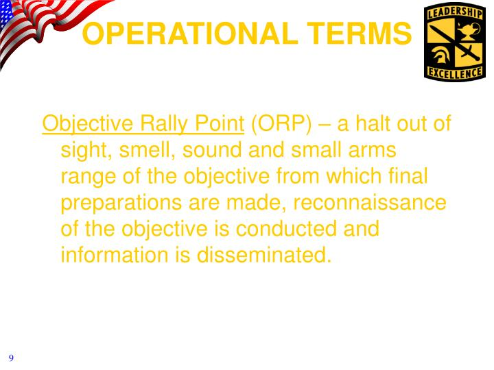 Objective Rally Point