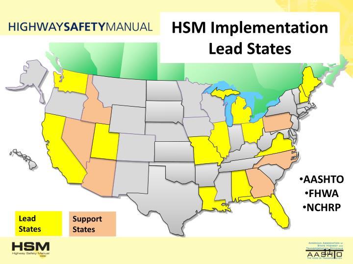 HSM Implementation Lead States
