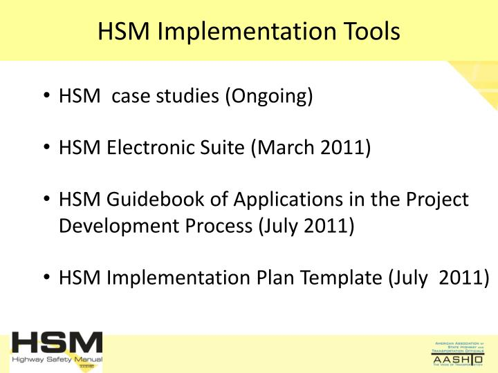 HSM Implementation Tools