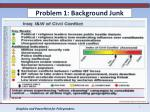 problem 1 background junk