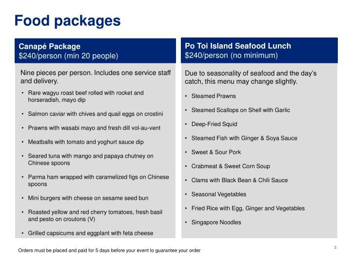 Food packages1