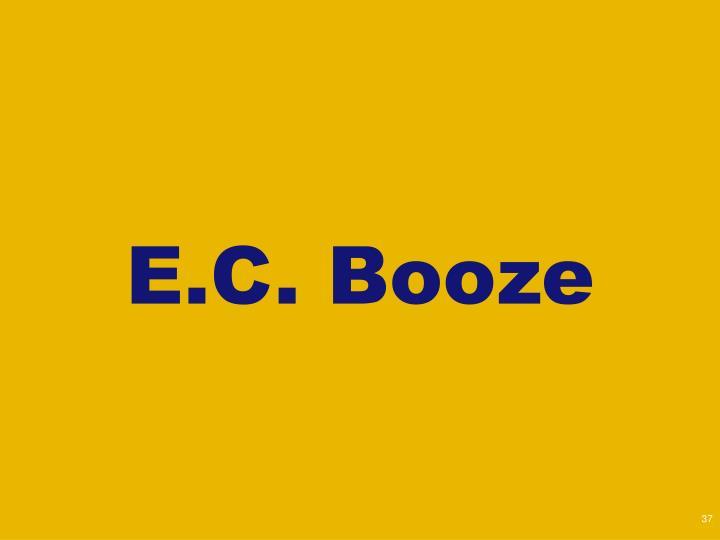 E.C. Booze
