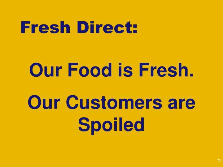 Fresh Direct: