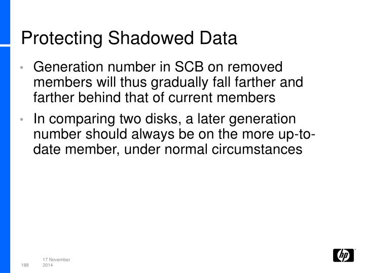 Protecting Shadowed Data