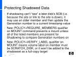 protecting shadowed data3