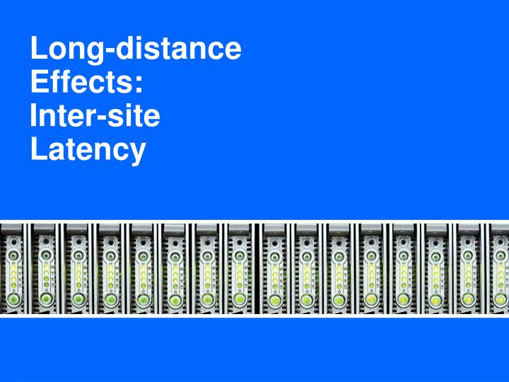 Long-distance Effects: