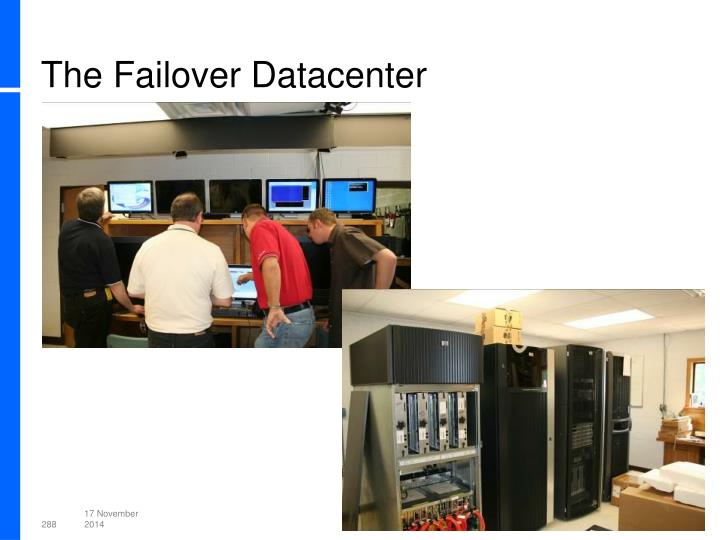 The Failover Datacenter