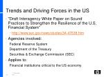 trends and driving forces in the us1