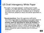 us draft interagency white paper