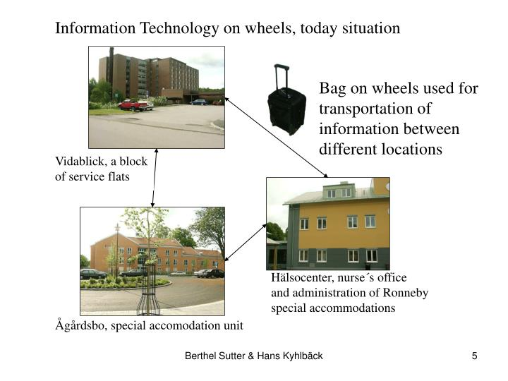 Information Technology on wheels, today situation