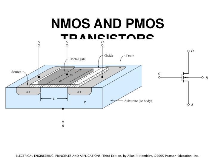 NMOS AND PMOS TRANSISTORS