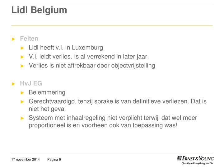 Lidl Belgium
