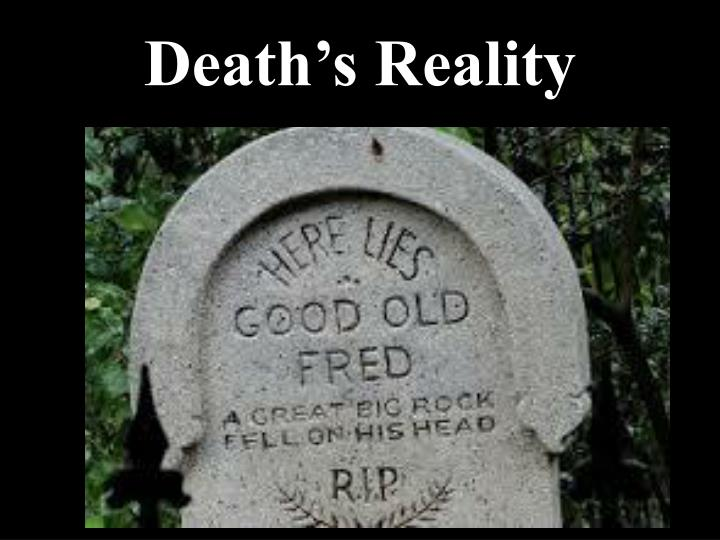 Death's Reality