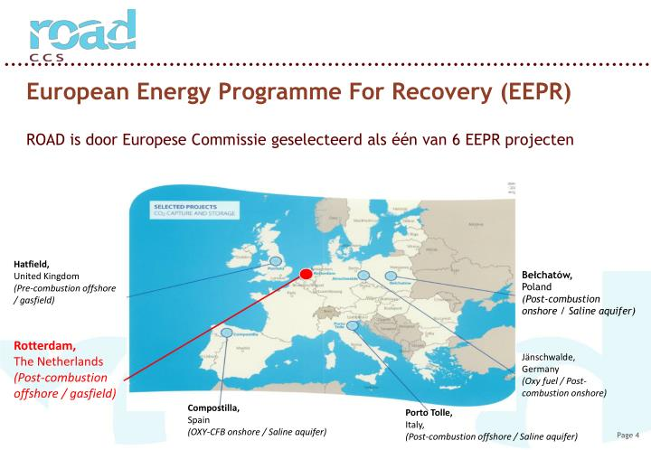 European Energy Programme For Recovery (EEPR)