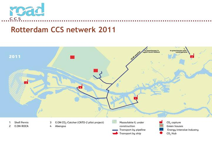 Rotterdam CCS netwerk 2011