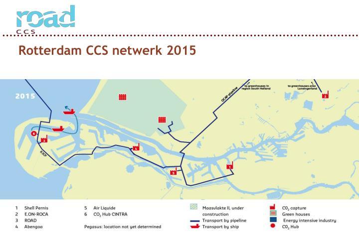 Rotterdam CCS netwerk 2015