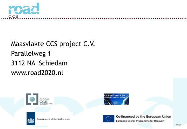 Maasvlakte CCS project C.V.
