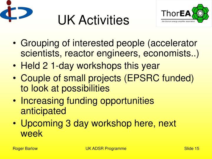 UK Activities