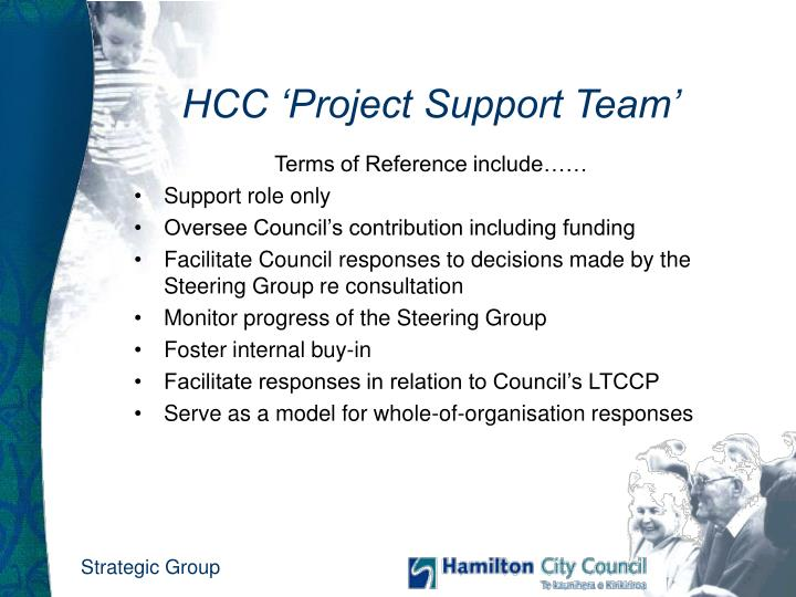 HCC 'Project Support Team'