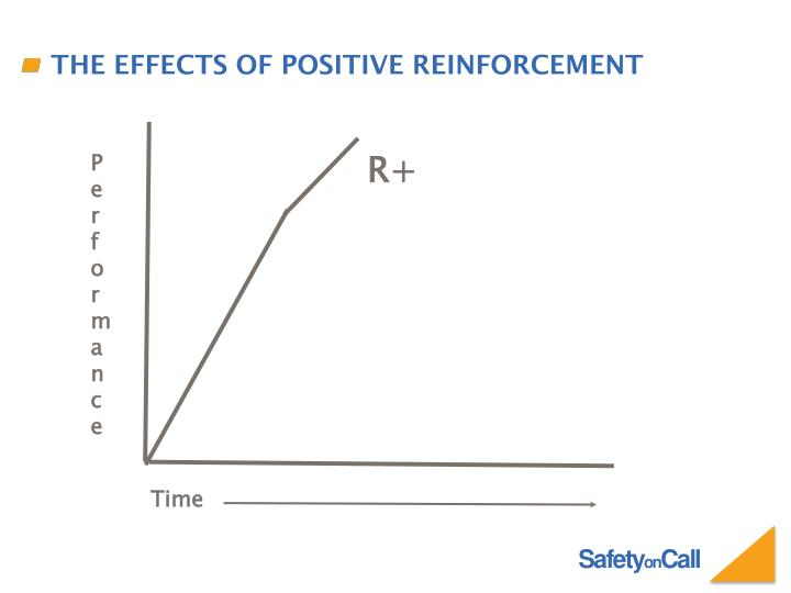 The effects of positive reinforcement