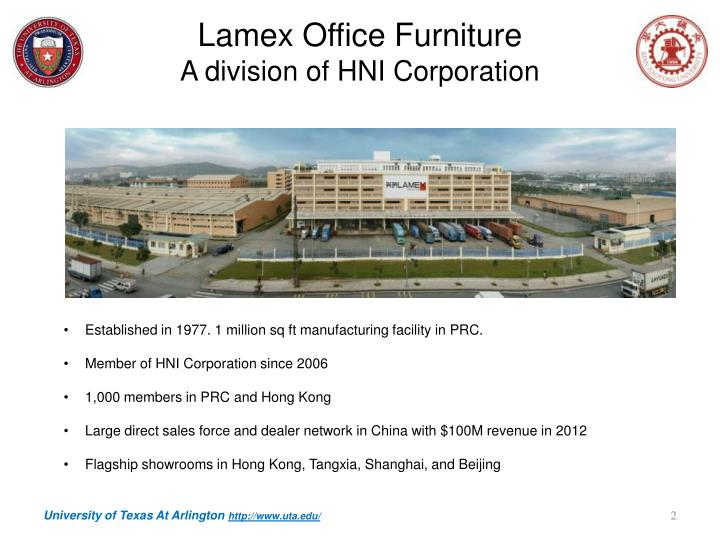 Lamex office furniture a division of hni corporation